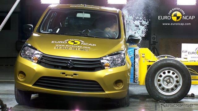 Suzukiserelio Euro NCAP crash test