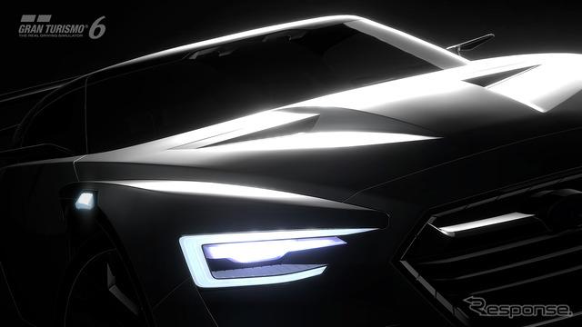 Subaru VIZIV GT vision Gran Turismo notice image
