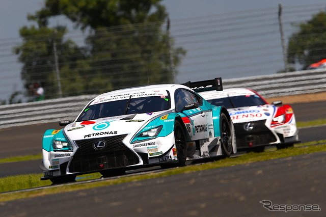 2014 SUPER GT round 7-GT500 class race Thailand-Chang international circuit