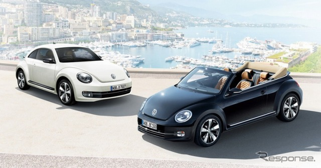 VW, beetle Turbo exclusiva y el beetle cabriolet exclusivo