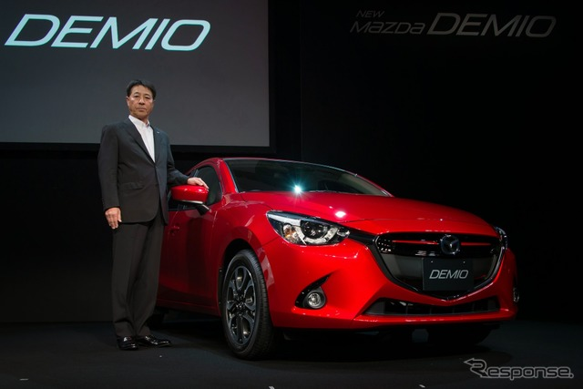 Shepherd, m. President and world strategy car Mazda Demio