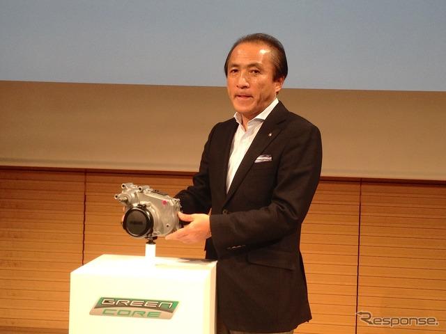 Yamaha Motor President Hiroyuki Yanagi