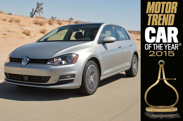2015 Motortrend and car of the year award-winning Volkswagen New Golf