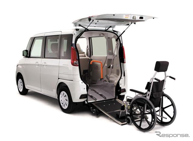 Mazda's wheelchair-ramp-equipped Flair Wagon