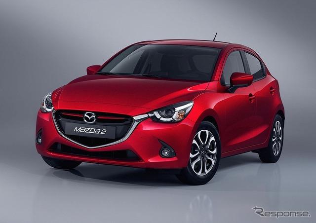 New Mazda2 (European specification vehicles)