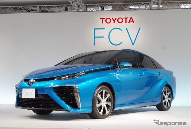 Toyota on 18th officially announces appointment of FCV sedan