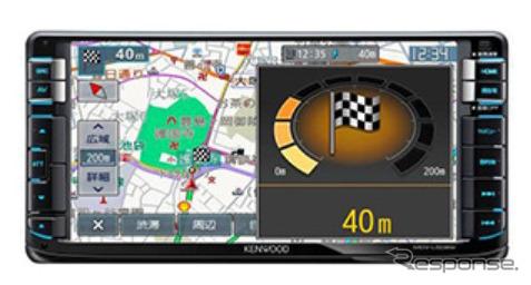 Kenwood Sai-speed navigation-MDV-L 502 W