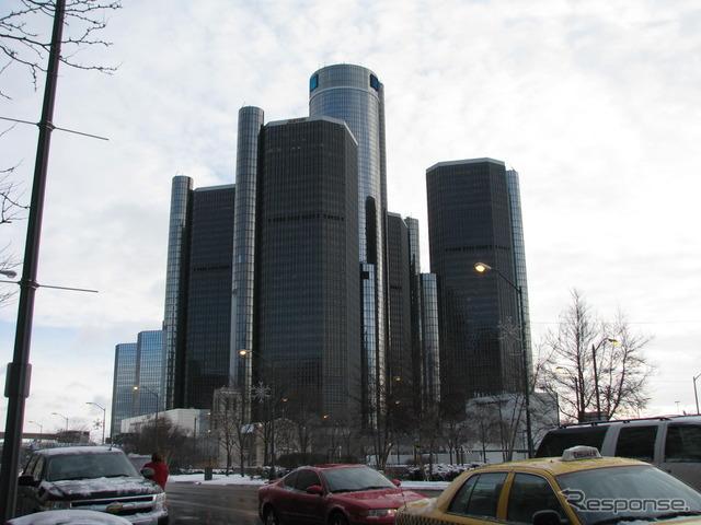 GM headquarters building