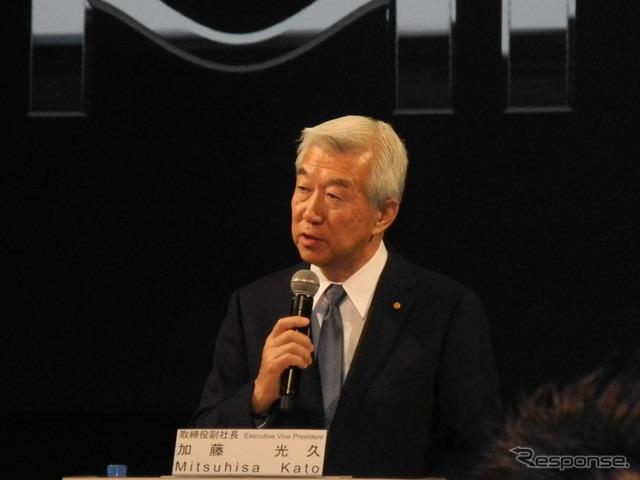 Kato Mitsuhisa Vice President of Toyota Motor Corp.