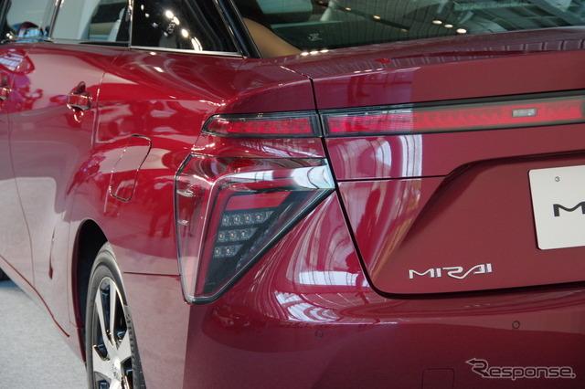 "Toyota Motor Corp. FCV ""MIRAI"""