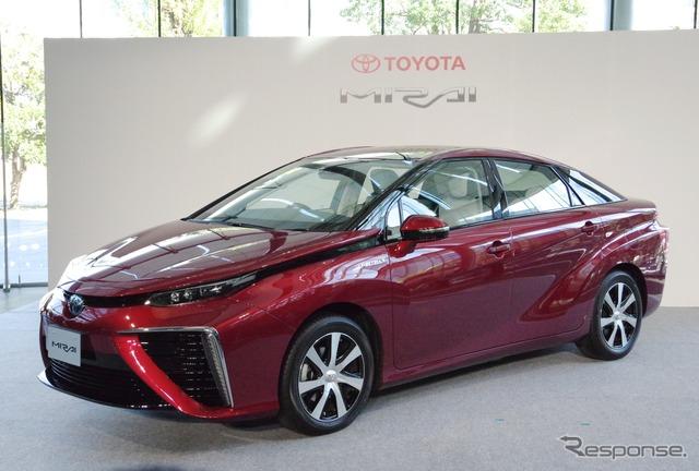 Toyota fuel cell vehicles MIRAI ( Mirai )