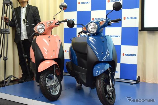 Suzuki Let's (Left), Let's G (Right)