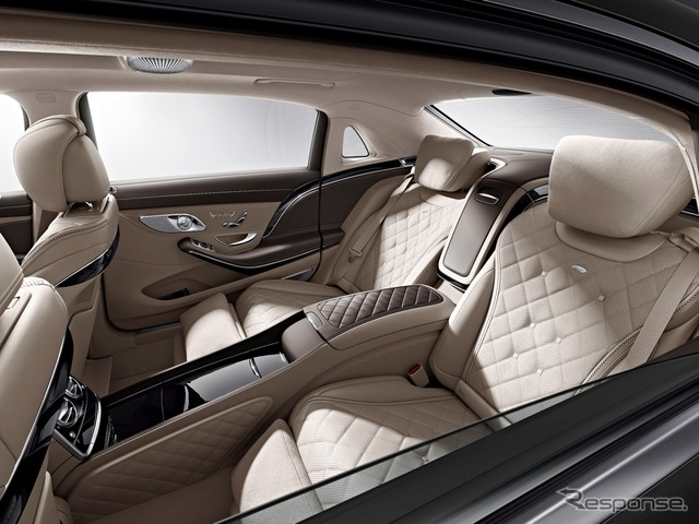 Mercedes - Maybach S class notice image
