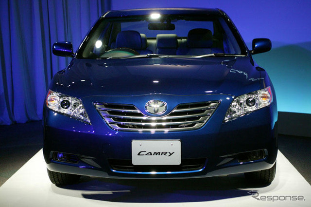 [Toyota Camry new announcement] United face at the G core