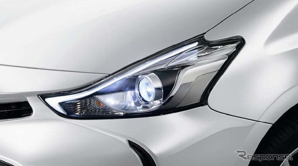 LED 1 lights up expression by function projector Prius alpha