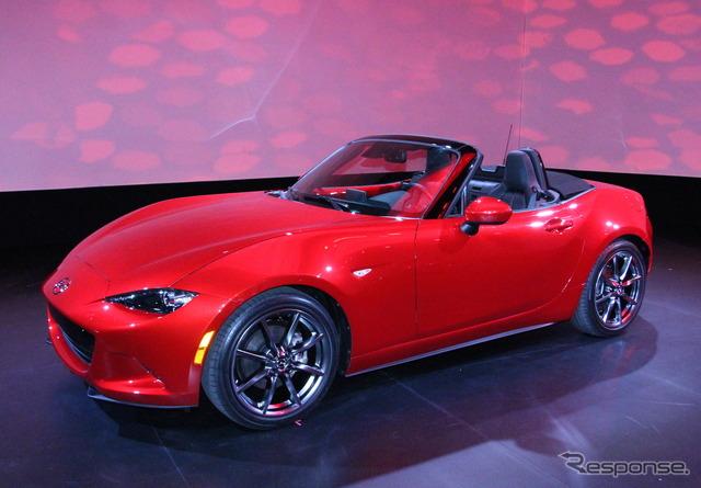 New Mazda Roadster (2014 Los Angeles Auto Show)