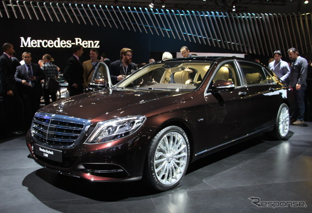 Maybach - Mercedes S class (14 Los Angeles motor show)