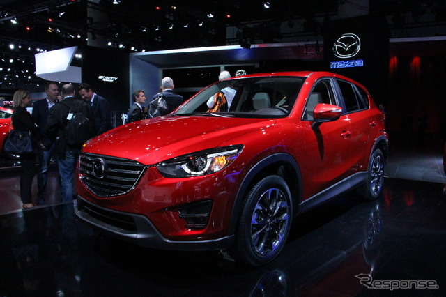 Mazda CX-5 improved new (Los Angeles Motor Show 14)