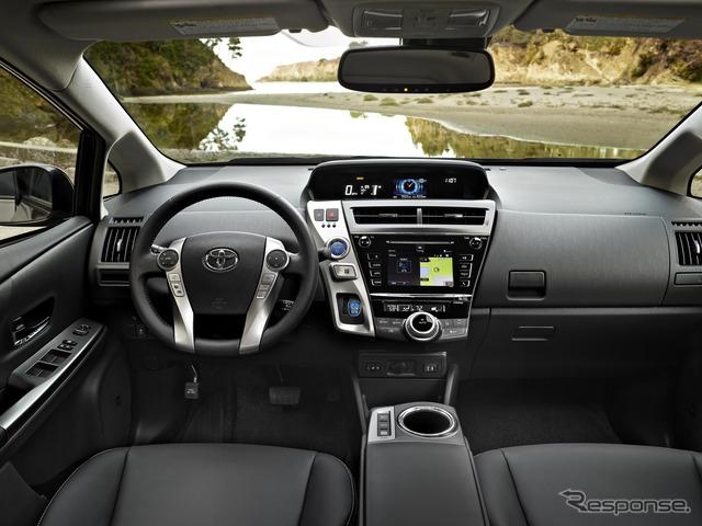 Toyota Prius v Prius Alpha type 2015