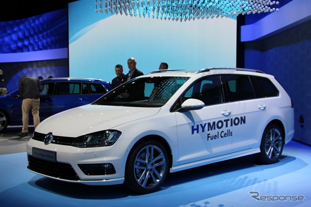 Volkswagen Golf and Sportwagon-new (Los Angeles Motor Show 14)