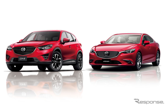 Greatly improved and the Mazda CX-5 and Mazda6
