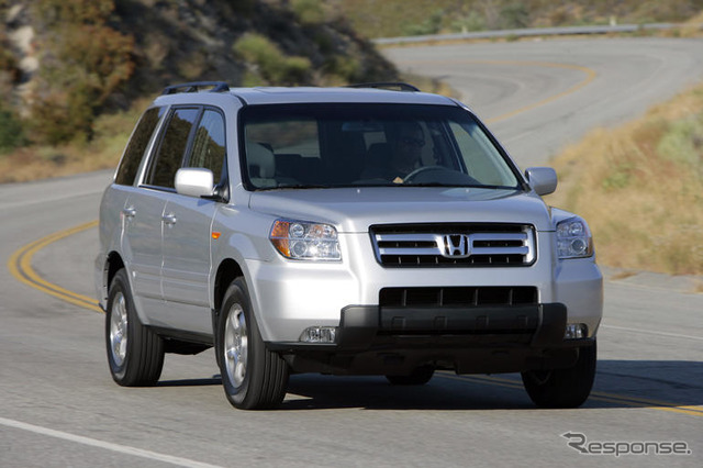 2006'S 'pilot' type of North American Honda EX-L 4WD