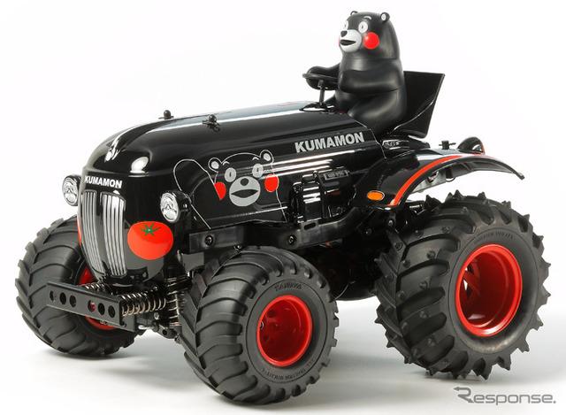 Tamiya-RC tractor bear Moon version