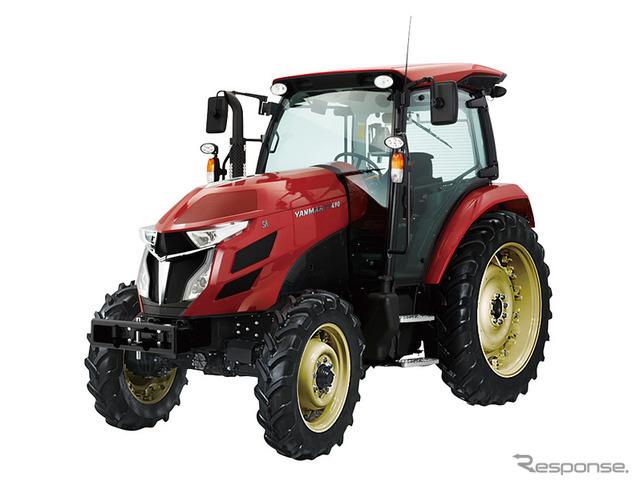 Large tractor YT series designed by kiyoyuki Okuyama, Yanmar