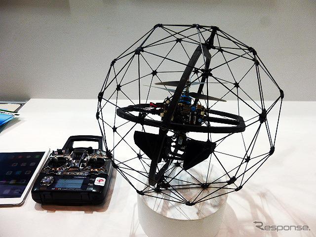 NEXCO East Japan, ball-type scanning robot demonstration experiment ( Highway techno fair 2014 )