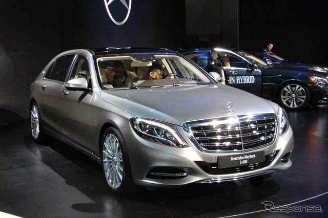 Mercedes Benz - Maybach S-class (Los Angeles Motor Show 14)