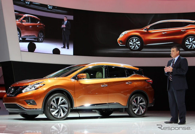 Nissan Murano (Los Angeles Motor Show 14)
