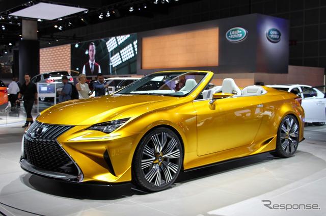 Lexus LF-C3 at 2014 Los Angeles Motor Show