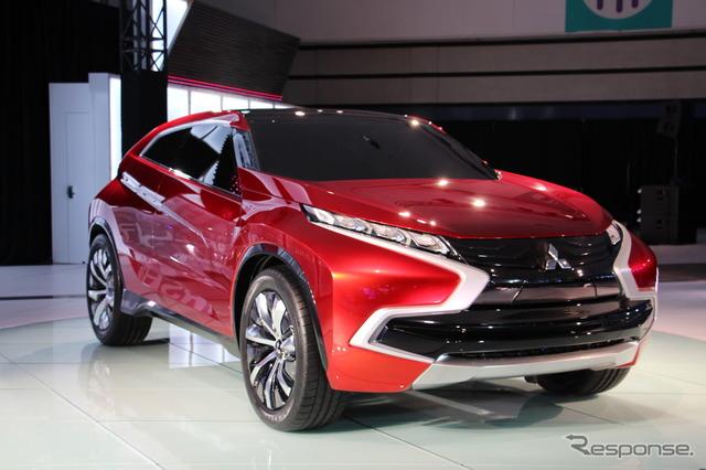Mitsubishi concept XR-PHEV (14 Los Angeles motor show)