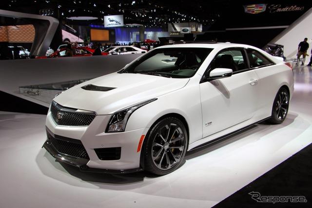 Cadillac ATS-V Coupe (Los Angeles Motor Show 14)