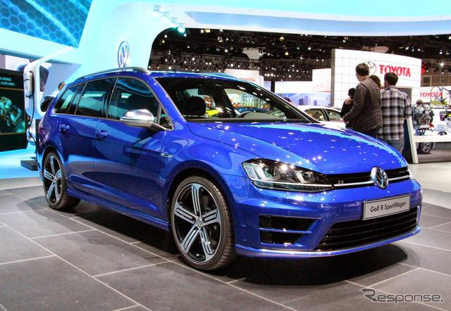 Volkswagen Golf R valiant (Los Angeles Motor Show 14)