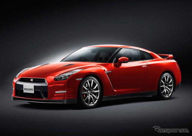 Nissan GT-r 2015 model