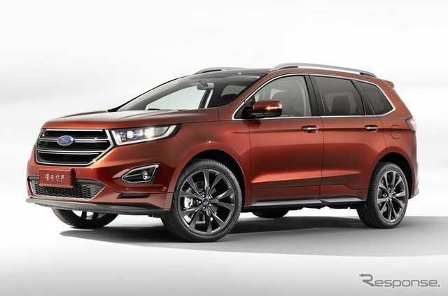 New Ford Edge 3-column sheet 7 seater
