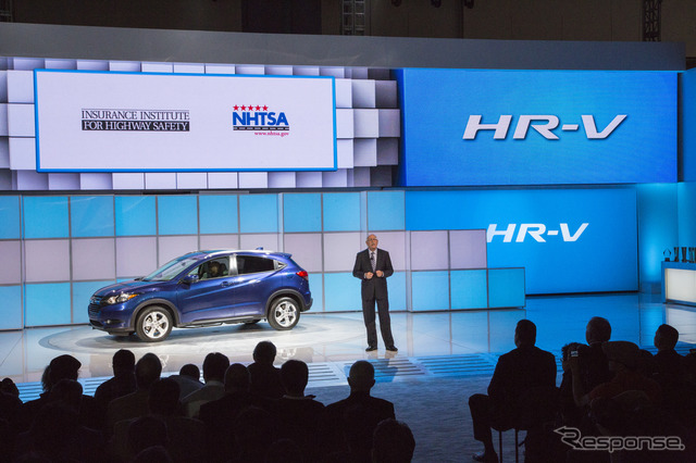 Honda HR-v (Japan name: Vesel) (Los Angeles Motor Show 14)