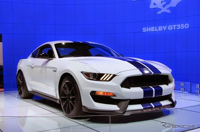 Ford Shelby GT 350 Mustang (Los Angeles Motor Show 14)