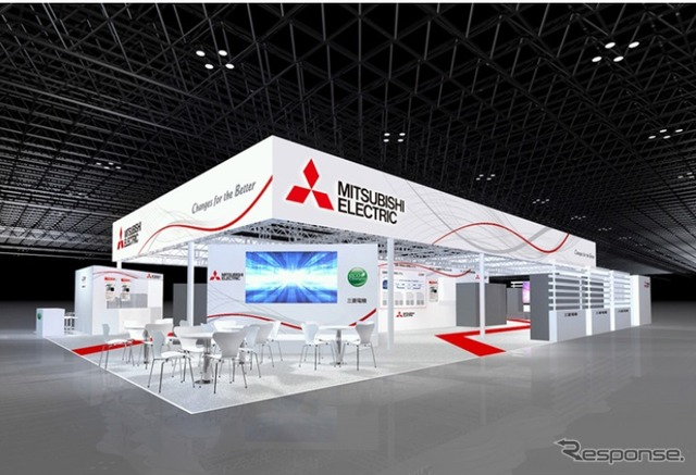 Mitsubishi Electric booth at eco-products 2014 images