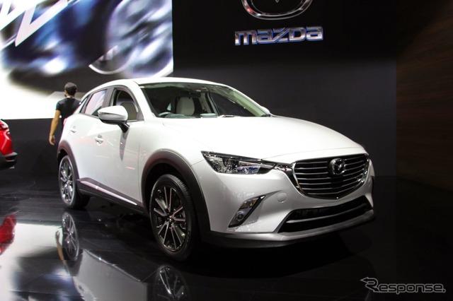 Mazda CX-3 (2014 Los Angeles Auto Show)