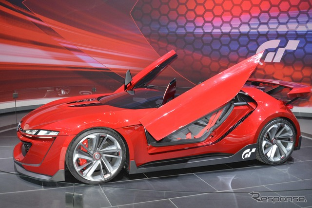 Volkswagen GTI Roadster vision Gran Turismo (14 Los Angeles motor show)