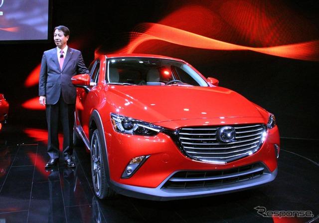 Mazda CX-3 and CEO Masamichi Kogai