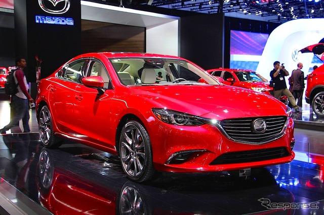 Mazda Atenza (2014 Los Angeles Auto Show)