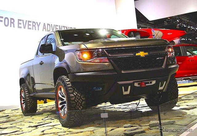 Chevrolet Colorado ZR2 (Los Angeles Motor Show 14)