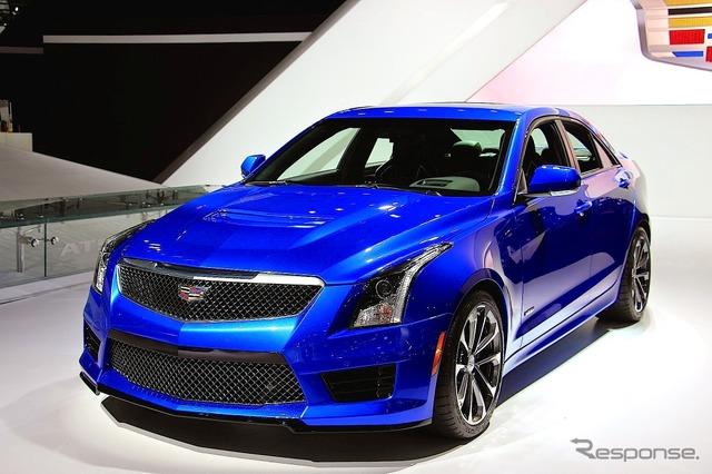 Cadillac ATS-V sedan (Los Angeles Motor Show 14)