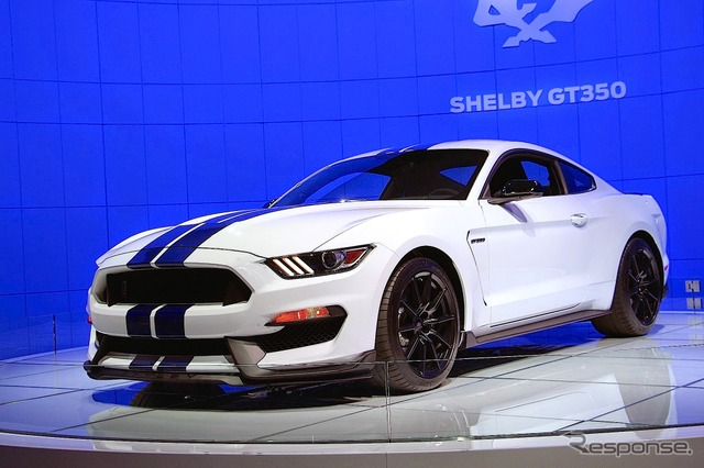 Ford Mustang Shelby GT 350 (Los Angeles Motor Show 14)