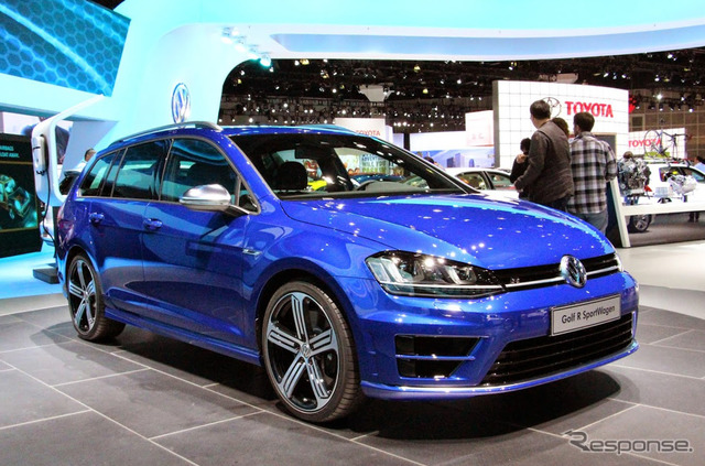 VW Golf R valiant (Los Angeles Motor Show 14)