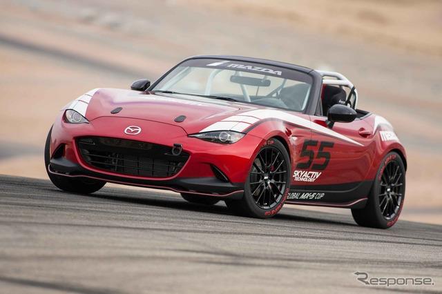 Mazda global MX-5 Cup race car