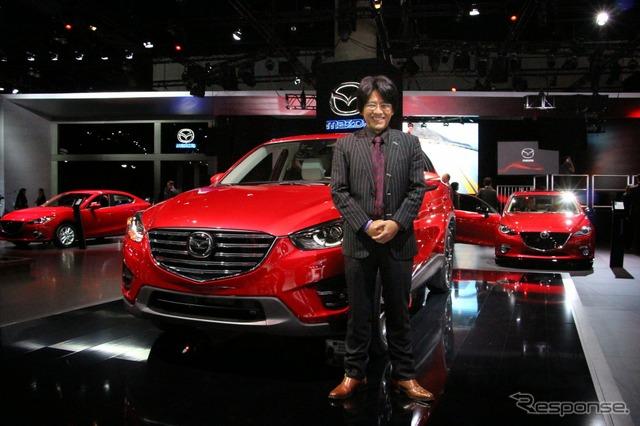 Mazda product division Ohtsuka Tadashi Chair